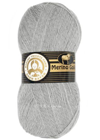 Merino Gold Madame Tricote 007 светло-серый