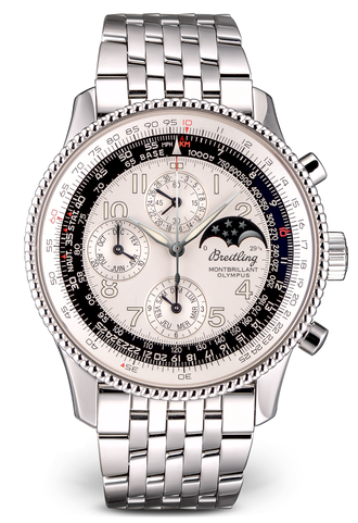 Breitling Montbrillant Olympus Navitimer Moonphase Perpetual