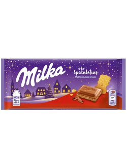 Milka New Year Speculaas Gingerbread с имбирным пряником
