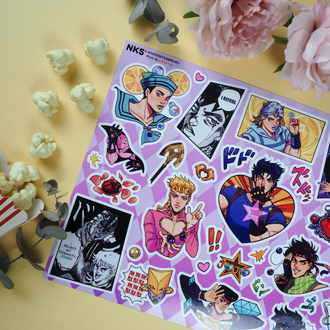 Sticker pack NKS БОЛЬШИЕ A4 JOJO