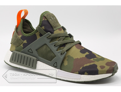 Кроссовки Adidas Originals NMD XR1 Duck Camo Olive Cargo/Core Black  мужские