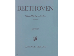 Beethoven: Complete Songs for Voice and Piano, Volume II