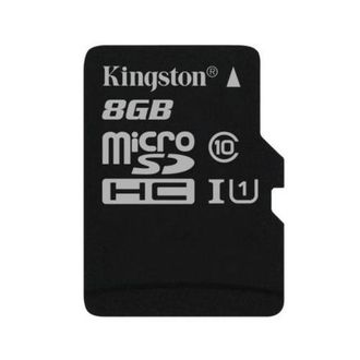 Карта памяти Kingston 8GB Micro SDHC Class 10