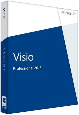 Microsoft Visio 2013 Professional 32-bit/x64 Russian 1 License Central Only DVD D87-05646