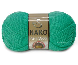 Nako Pure Wool 1130 изумруд