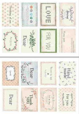 "Наклейки ""Lovely Stamps. Message"""