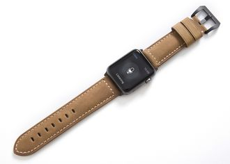 Ремешок Bullstrap Classic для Apple Watch на умном гаджете