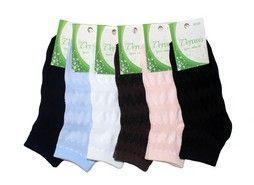 Веронис носки женские средне укороченные сетка хлопок с лайкрой Арт. СЕ3, 10 пар (1 упаковка)