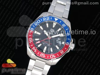 Aquaracer Calibre 7 GMT SS 43mm