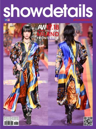 SHOWDETAILS Magazine FRONT/BACK MILANO Autumn-Winter 2018 ИНОСТРАННЫЕ ЖУРНАЛЫ О МОДЕ, INTPRESSSHOP