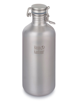 Бутылка Klean Kanteen Growler 64oz (1900 мл) Brushed Stainless