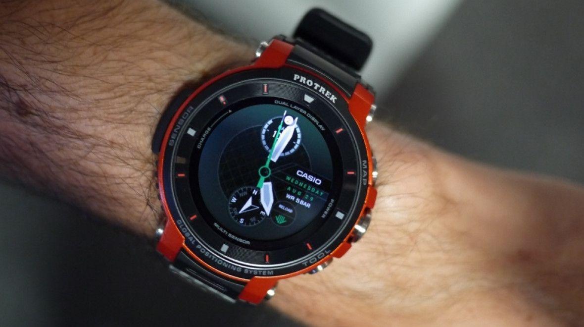 Casio Pro Trek WSD-F30 wear-gadget.ru