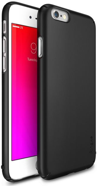 Чехол на Apple iPhone 6S, Ringke серия Slim, цвет черный (Black)