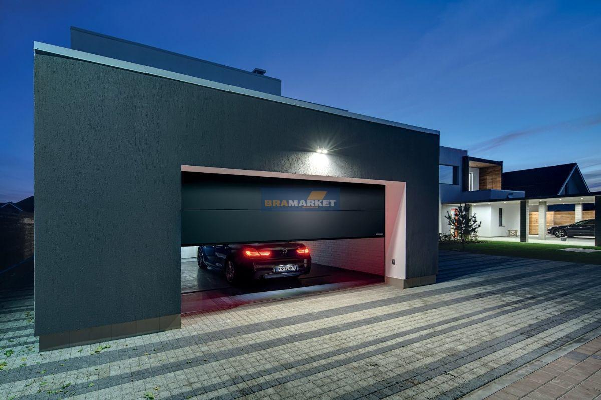 гаражные ворота - алюминиевые входные двери - единая линия