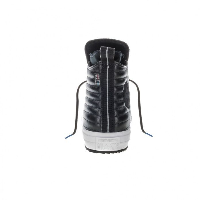 d0dcf601 Кеды Converse All Star Chuck Taylor Leather Black WP Boot - 157492