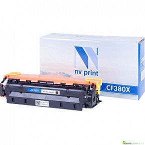 КАРТРИДЖ NV PRINT HP CF 380 X BLACK