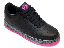 Nike Air Force Low Black-Pink (35-39)