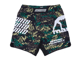 Купить Шорты MANTO fight shorts ORGANIC CAMO для грепплинга и ММА с оригинальным дизайном
