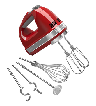 Ручной миксер KitchenAid, красный, 5KHM9212EER
