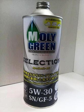 MOLY Green Selection 5W30 1л