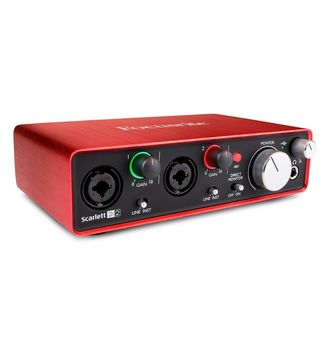 FOCUSRITE Scarlett 2i2 2nd Gen USB в soundwavestore-company.ru