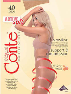 Conte™ Active Soft 40 den (5=XL размер)