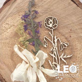 LM - R05 - цветок мака