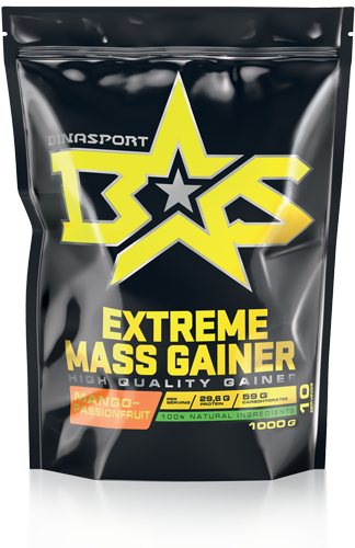 BINASPORT EXTREME MASS GAINER 1000 гр Манго