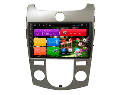 "Автомагнитола MegaZvuk T8-9053 Kia Cerato (TD) (2009-2013) на Android 8.1.0 Octa-Core (8 ядер) 9"" Full Touch с климат-контролем"