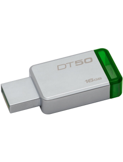USB-накопитель KINGSTON 16GB, USB 3.0 (серебристый)