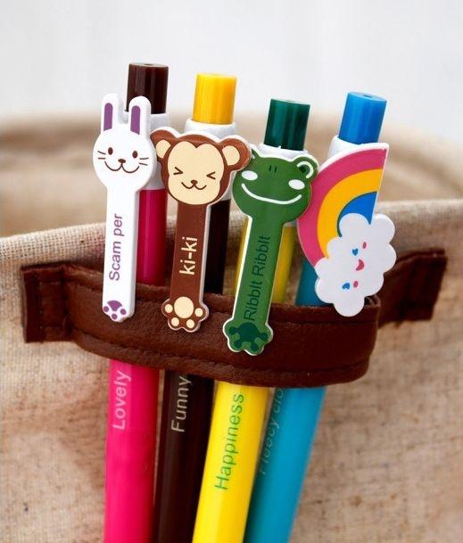 Шариковая  ручка для детей с мультяшками