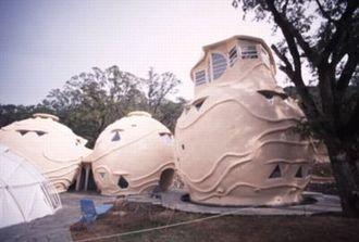 Купольные, круглые и органические дома из лёгкого бетона от 10 000 рублей за кв.м.