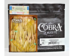 Табак Cobra Lemongrass Лемонграсс La Muerte 50 гр