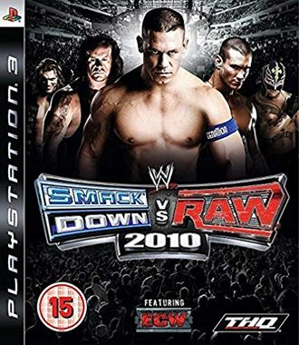 игра для PS3 WWE SmackDown vs. Raw 2010