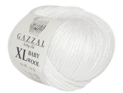 Gazzal Baby Wool XL 801 белый