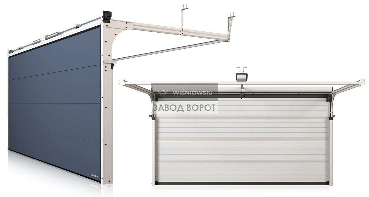 фото гаражных ворот - заказать изготовление въездных систем - харьков