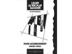 Wastall, Peter. Learn as you play Bassoon piano accompaniment