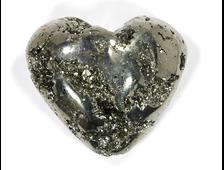 Сердце Пирит, Перу (60*50*31 мм, 192 г) №15942