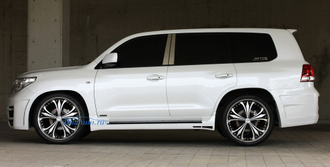 Обвес M'z Speed Toyota Land Cruiser 200 2007-2015