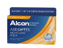 Air Optix Night&Day Aqua (3 линзы)