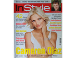 Instyle Germany Magazine June 2001 Cameron Diaz, Russell Crowe, Женские иностранные журналы,Intpress