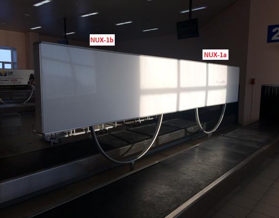 Реклама в аэропорте  (г. Новый Уренгой)