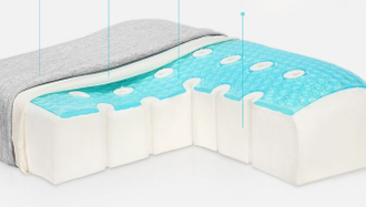 Подушка Xiaomi 8H JN gel memory pillow