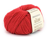 Alize Merino Royal 56 красный