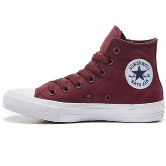 Унисекс Сonverse Сhuck Taylor All Star II High Burgundy