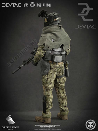 КОЛЛЕКЦИОННАЯ ФИГУРКА 1/6 scale Action figure DEVTAC RONIN - Green Wolf Gear