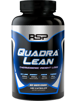 Жиросжигатель RSP Quadra Lean thermogenic 90 cap