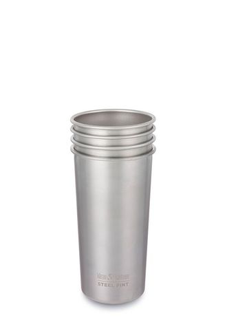 Набор стаканов Klean Kanteen Steel Pint 20oz (591 мл) - 4 шт