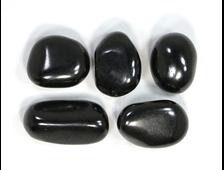 Шунгит, галтовка в ассортименте (30-40 мм, 15-19 г) №22857