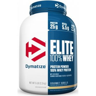 (Dymatize) Elite Whey - (2.3 кг) - (клубника)